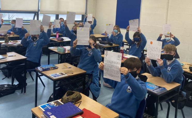 Rang Cunningham Participate in Comfort Words Initiative